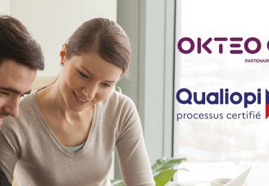 Formation professionnelle : OKTEO obtient la certification Qualiopi